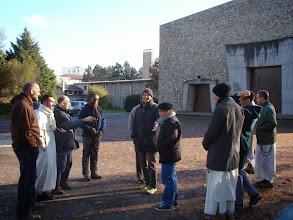 Photo: Na první neděli adventní jsme měli domluvenou vycházku s karmelskými bratry studenty. Sraz byl před naším kostelem.