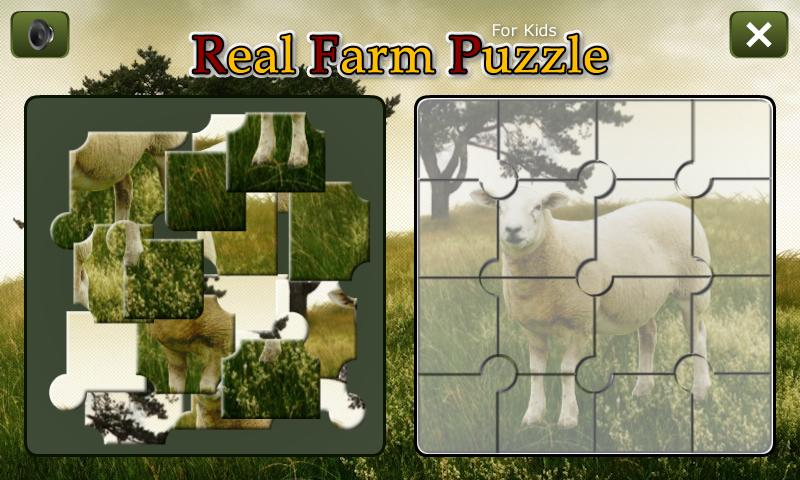 Real Farm Puzzle- screenshot