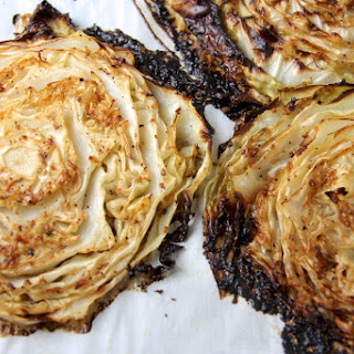 Oven-Roasted Cabbage Wedges.