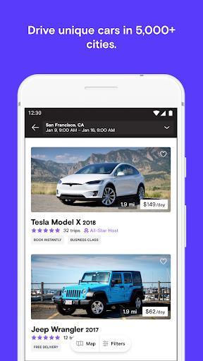 Turo - Better Than Car Rental 20.7.1 screenshots 1