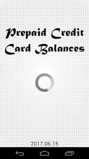 Prepaid Credit Card Balances - náhled