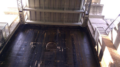 Photo: Underneath one of the Lift Lock tubs