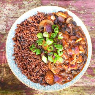Mushroom, Clove and Black Bean Healing Chili