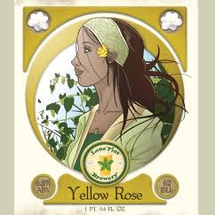 Logo of Lone Pint Yellow Rose IPA
