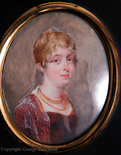 Photo: A painted miniature of Wallace's mother, Mary Ann Wallace (née Greenell), aged 18. Property of the Wallace family. Copyright A. R. Wallace Memorial Fund.
