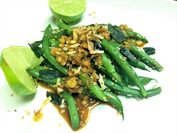 Balinese Green Bean Salad Recipe