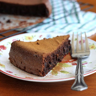 Moist Double Chocolate Gluten-Free Cake.