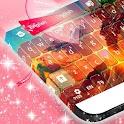 粉红色的键盘 icon