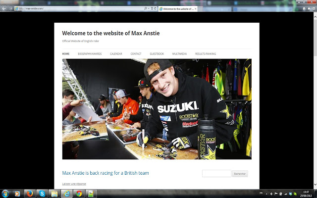Welcome to the website of Max Anstie