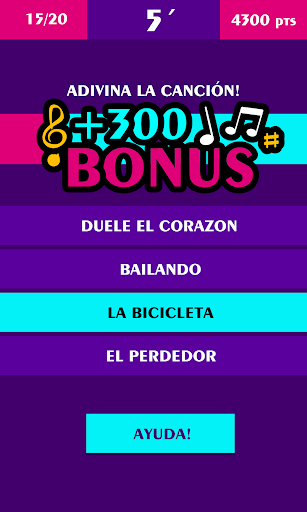 Adivina La Canción screenshot