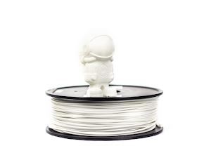 White MH Build Series PETG Filament - 1.75mm (1.0kg)
