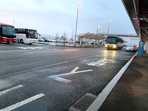 盛岡駅行き空港バス