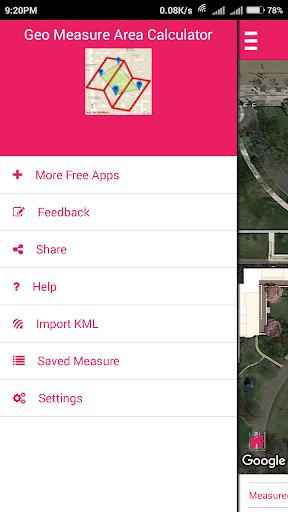 Geo Measure Area calculator  screenshots 1