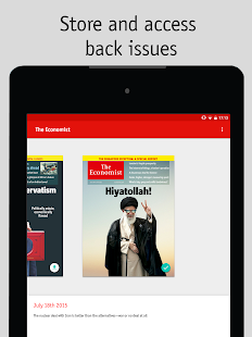 The Economist Screenshot