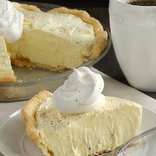 Eggnog Pie.