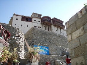 Photo: Baltit Fort (ca. 800 yrs.old but with newer parts) at 2420m
