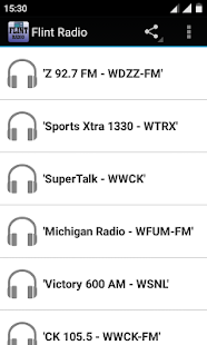 Flint Radio - náhled