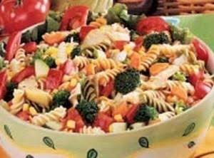 Rainbow Pasta Salad Recipe