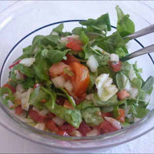 American Salad with French Dressing
