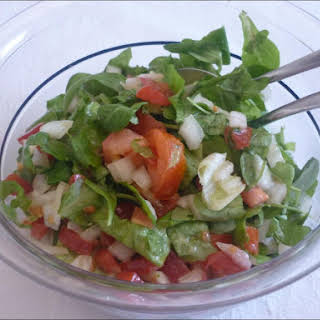 American Salad with French Dressing.