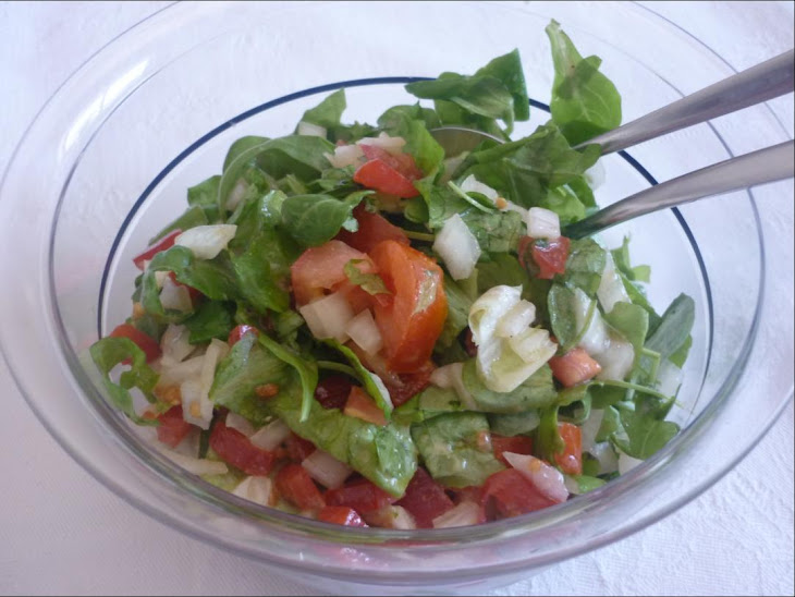 American Salad with French Dressing Recipe