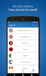 Radio FM Player - TuneFm- screenshot thumbnail
