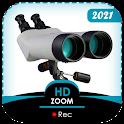 Ultra Zoom Binoculars HD Camera icon