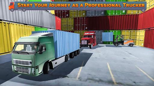 Heavy Cargo Transporter Truck