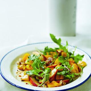 Magical Peach Arugula Salad Recipe