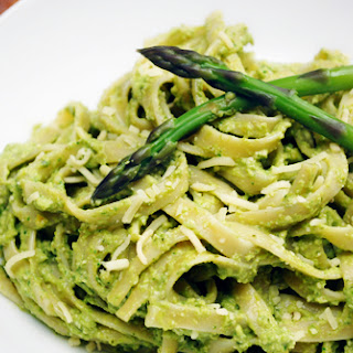 Asparagus Pesto with Lemon & Mint
