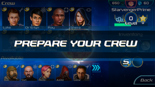 Starvengers: Mind-blowing, Sci-Fi Space Strategy 1.0.48 Android APK Mod 2