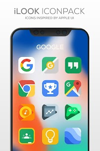 iLOOK Icon pack UX THEME (MOD, Paid) v3.1 2