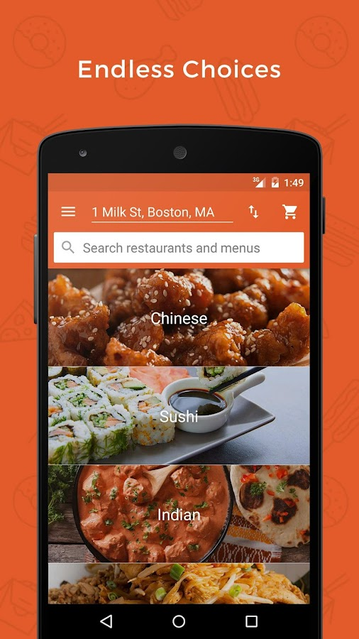 Foodler - Food Delivery- screenshot