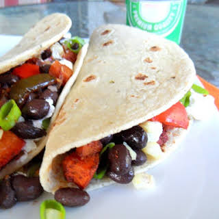Roasted Vegetable Tacos.