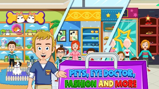 My Town : Shopping Mall MOD APK 1.00 [Characters Unlocked] 4