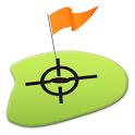 nRange Golf GPS rangefinder icon