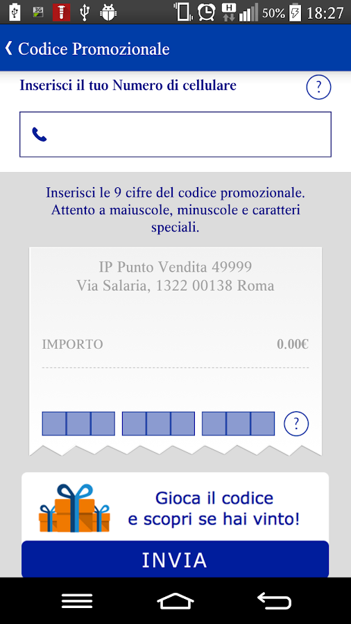 Stazioni IP- screenshot