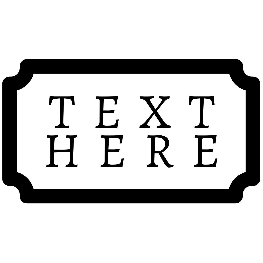 vintage rectangle logo