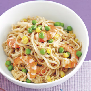 Shrimp and Egg Lo Mein
