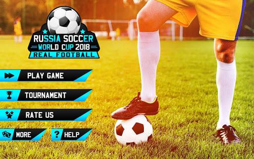 Real Soccer World Cup 2018 Real Football Game 1.0 screenshots 10
