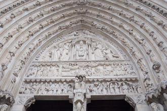 Photo: Notre Dame detail
