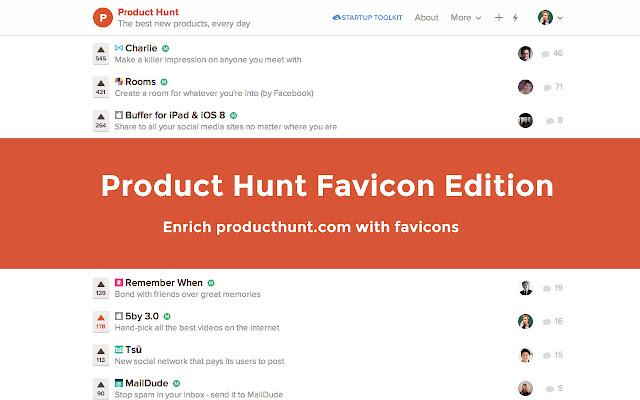 Product Hunt Favicon Edition