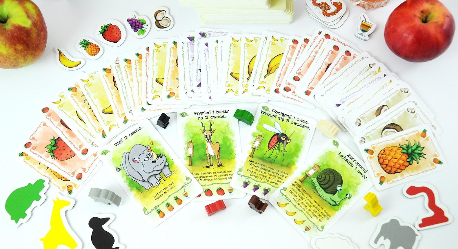 Owocowe Opowieści - elementy gry