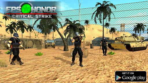 FPS HONOR: Free Fire Shooters Battlegrounds 1.04 screenshots 2