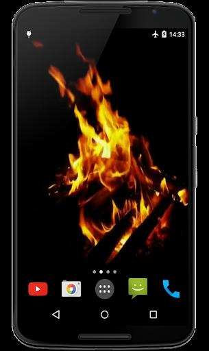 Bonfire 4K Video Wallpaper