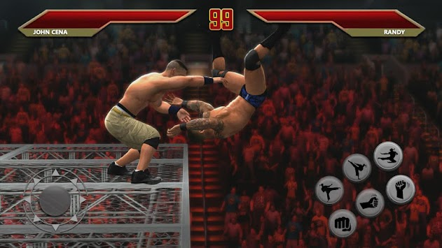 Wrestling Champions Ultimate Cage Revolution Fight apk screenshot