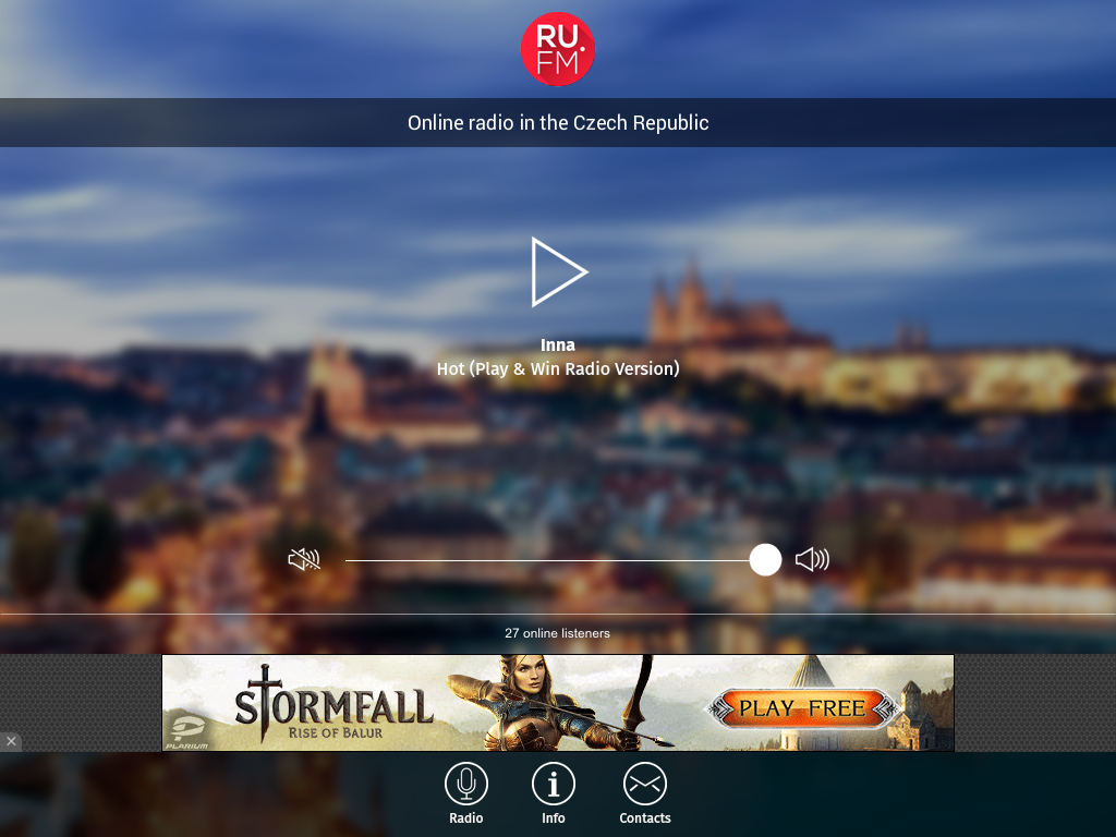 RUFM.CZ- screenshot
