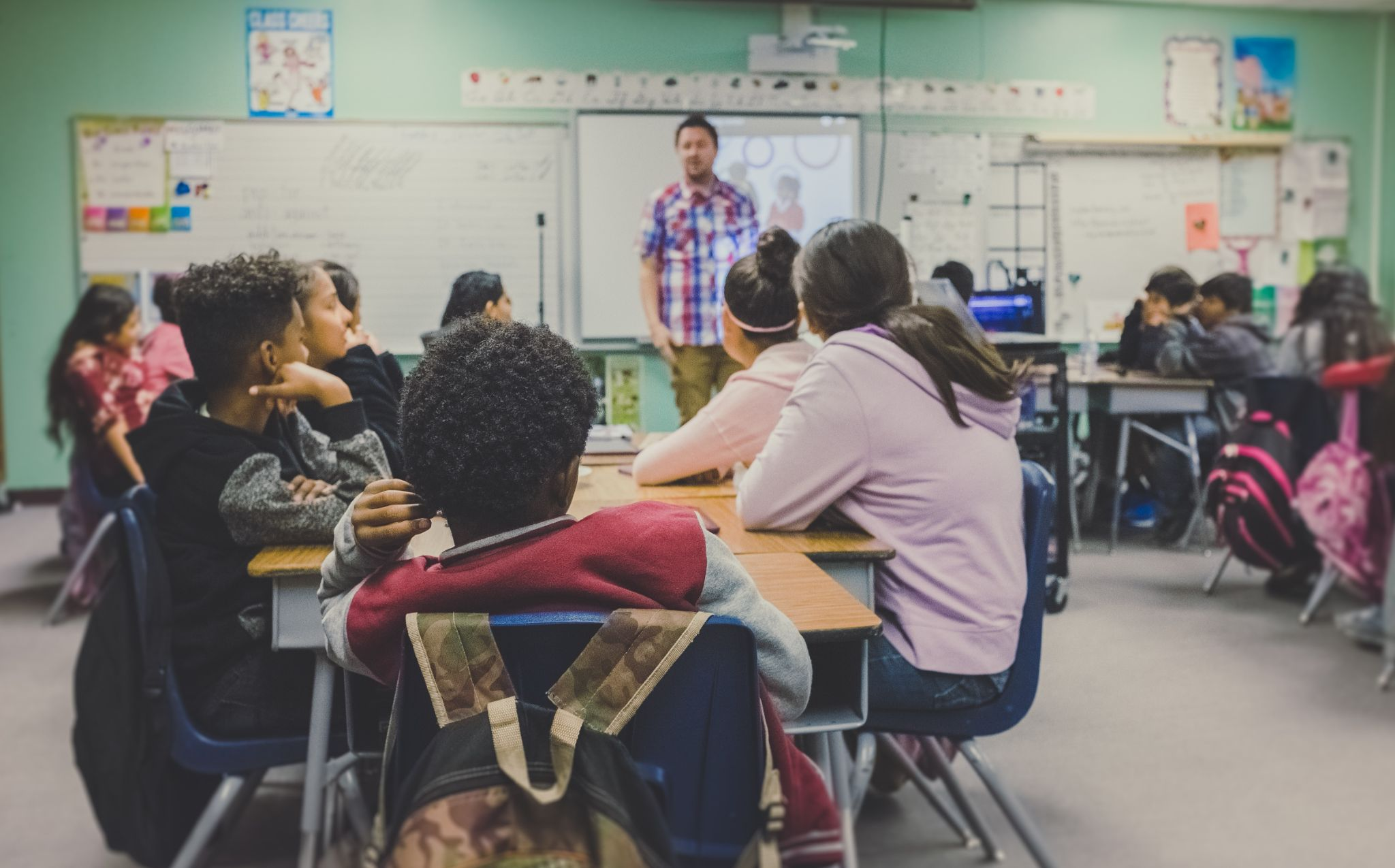 Setting the tone in the classroom - maintaining consistency with your classes.