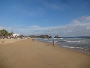 Photo: Jižní Mexiko - Pacific. Pláž Zipolite. Obrovskej kontrast ke Cancunu.