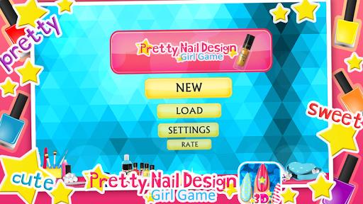 ネイル デザイン - 女の子ゲーム